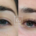 Hybrid Lashes Extensions