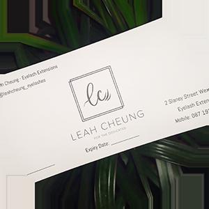 Leah Cheung Gift Vouchers