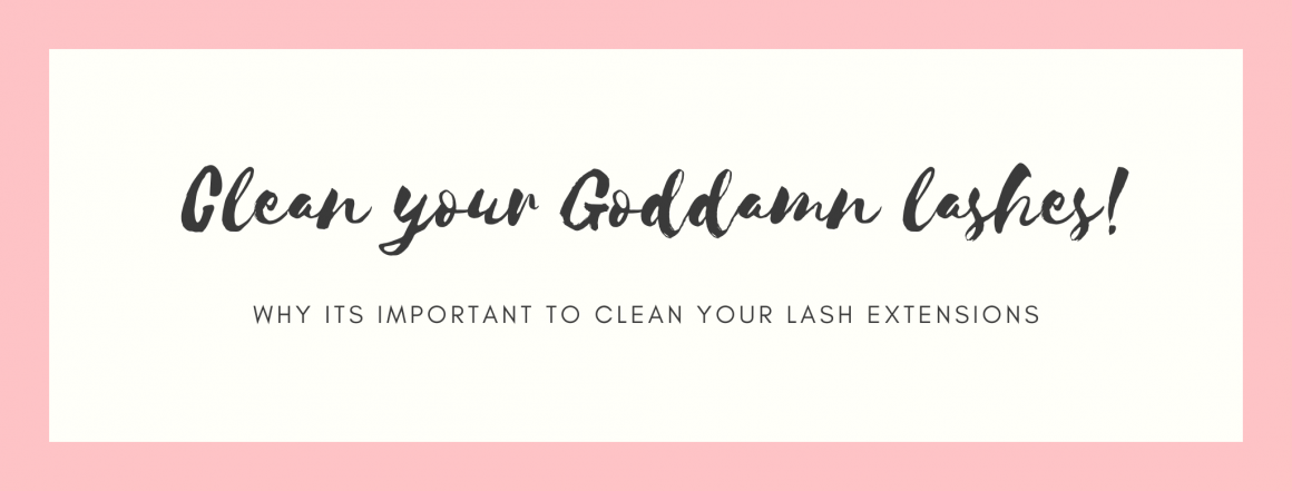 Is it important to clean your lashes?